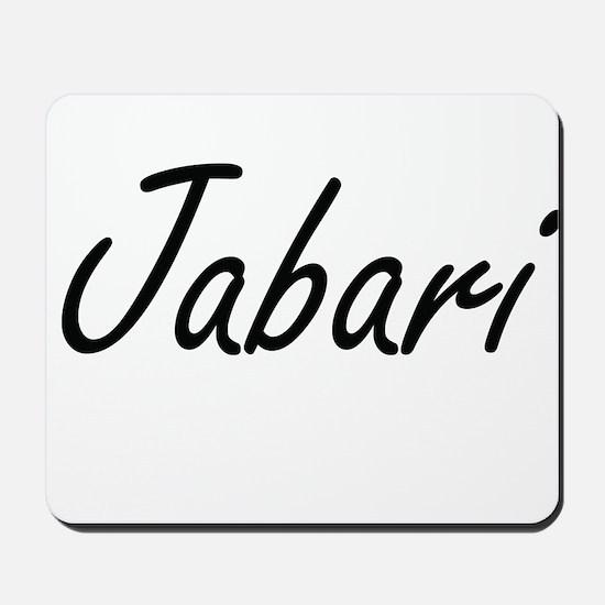 Jabari Artistic Name Design Mousepad