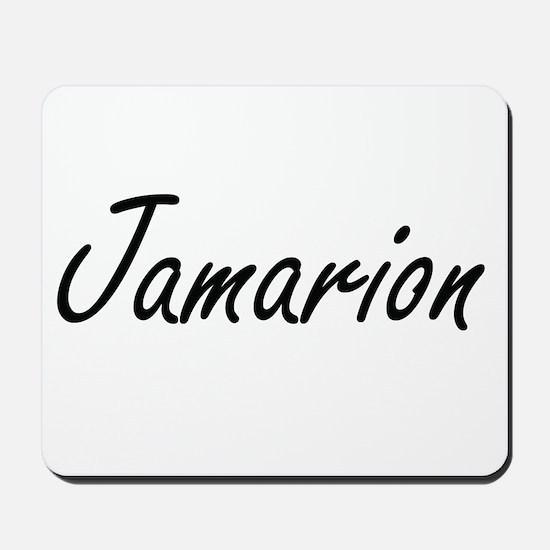 Jamarion Artistic Name Design Mousepad