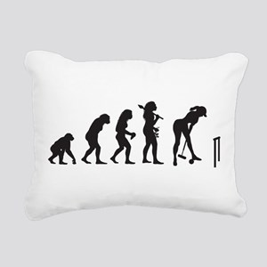 Croquet Rectangular Canvas Pillow