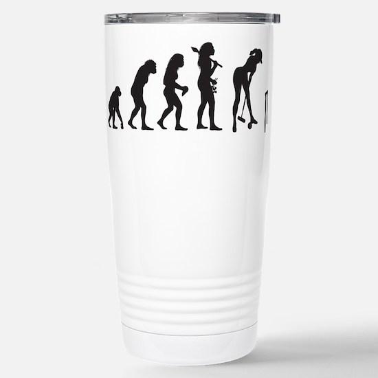 Croquet Stainless Steel Travel Mug