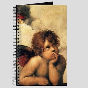 Sistine Madonna Angels by Raphael Journal