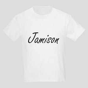 Jamison Artistic Name Design T-Shirt