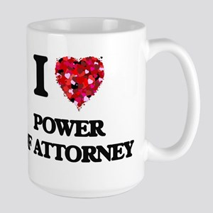 I Love Power Of Attorney Mugs