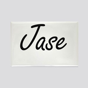 Jase Artistic Name Design Magnets