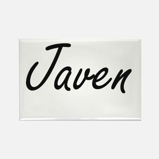 Javen Artistic Name Design Magnets