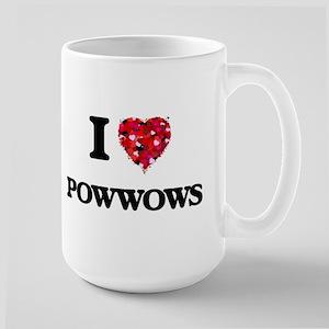 I Love Powwows Mugs
