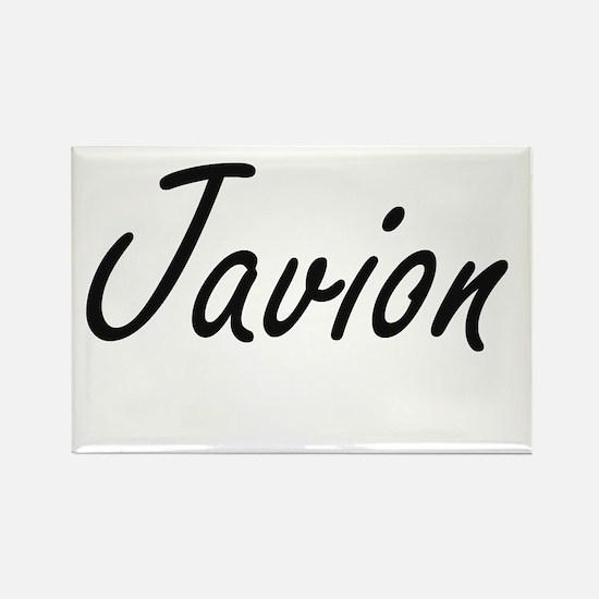 Javion Artistic Name Design Magnets