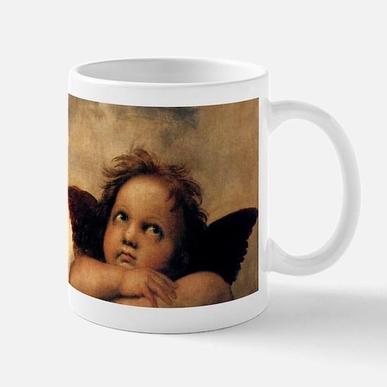 Sistine Madonna Angels by Raphael Mugs