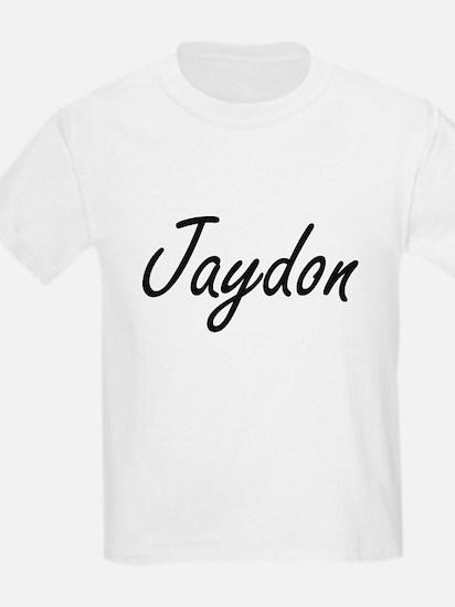 Jaydon Artistic Name Design T-Shirt