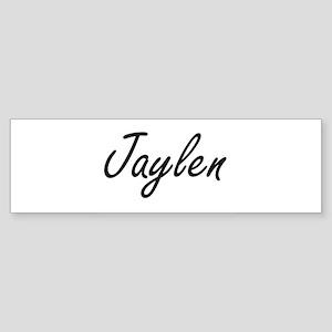Jaylen Artistic Name Design Bumper Sticker