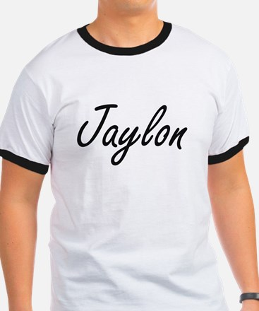 Jaylon Artistic Name Design T-Shirt