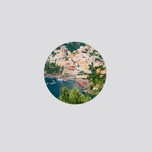 Italy, Capri Mini Button