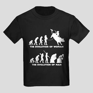 Bull Riding Kids Dark T-Shirt