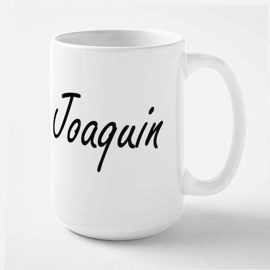 Joaquin Artistic Name Design Mugs