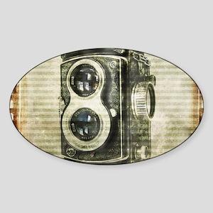 photographer retro camera Sticker
