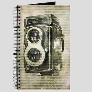 photographer retro camera Journal