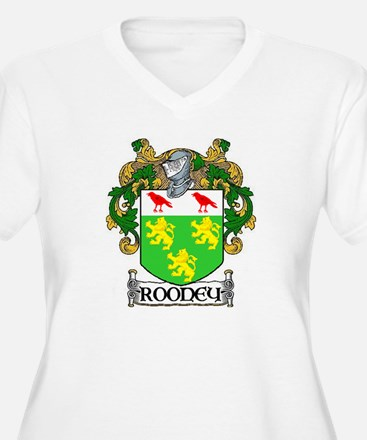 Rooney Coat of Arms Plus Size V-Neck T