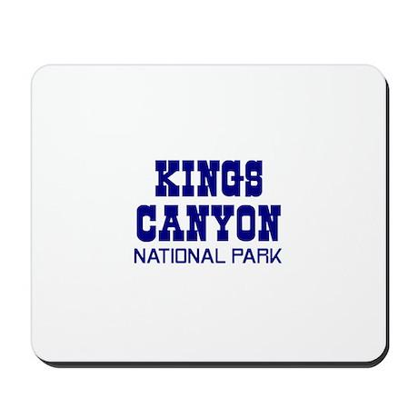 Kings Canyon National Park Mousepad