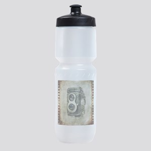 photographer retro camera Sports Bottle