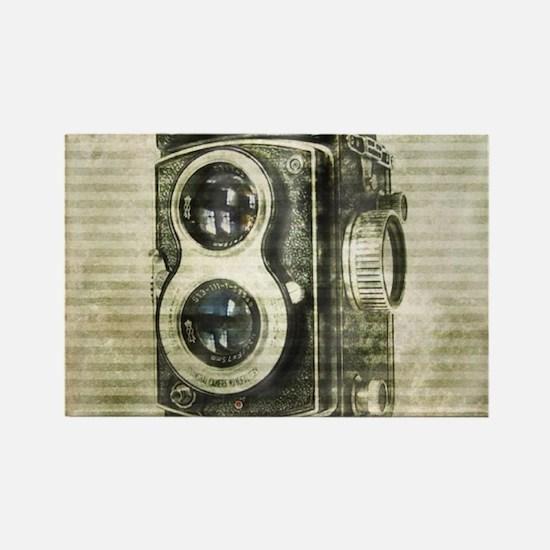photographer retro camera Magnets
