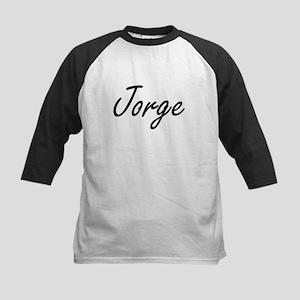 Jorge Artistic Name Design Baseball Jersey