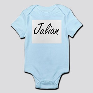 Julian Artistic Name Design Body Suit