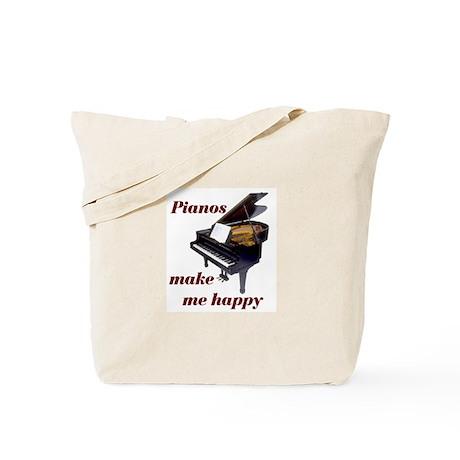 PIANOS Tote Bag