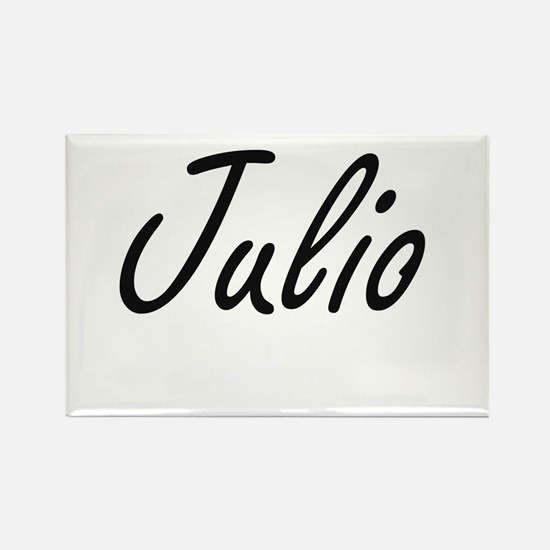 Julio Artistic Name Design Magnets
