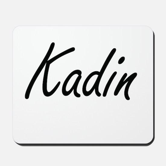 Kadin Artistic Name Design Mousepad