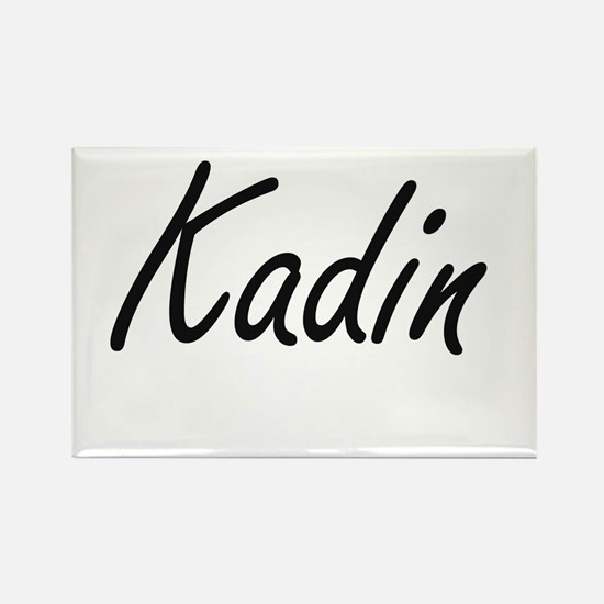 Kadin Artistic Name Design Magnets