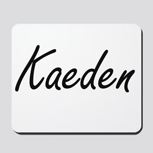 Kaeden Artistic Name Design Mousepad