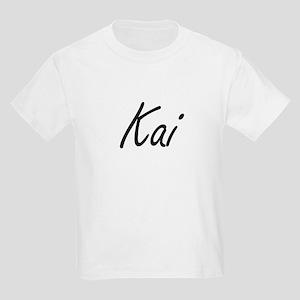 Kai Artistic Name Design T-Shirt