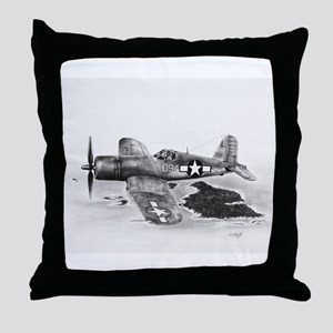 Corsair Throw Pillow