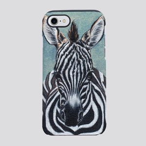 Zebra-Large iPhone 8/7 Tough Case
