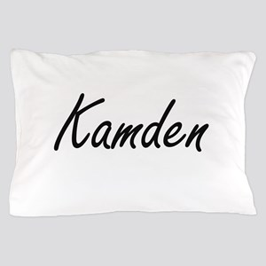 Kamden Artistic Name Design Pillow Case