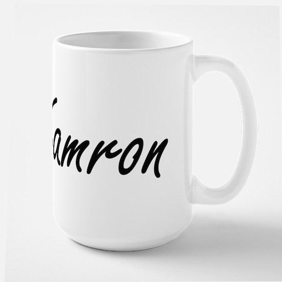 Kamron Artistic Name Design Mugs