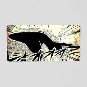 cool japanese cartoon Aluminum License Plate
