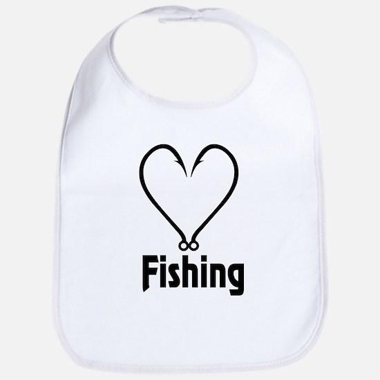 Love Fishing Bib