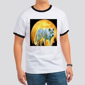 western forest moonlight wolf T-Shirt