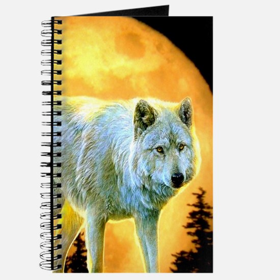 western forest moonlight wolf Journal