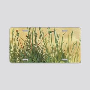 Large Piece of Turf by Albr Aluminum License Plate