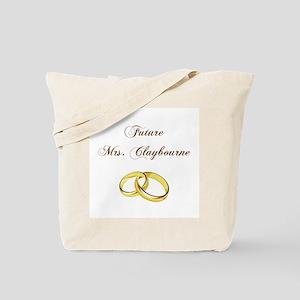 FUTURE MRS. CLAYBOURNE Tote Bag