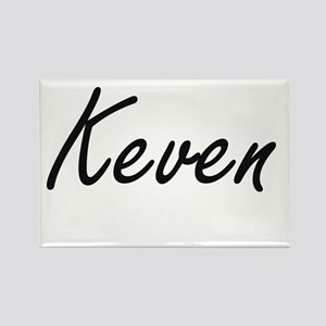 Keven Artistic Name Design Magnets