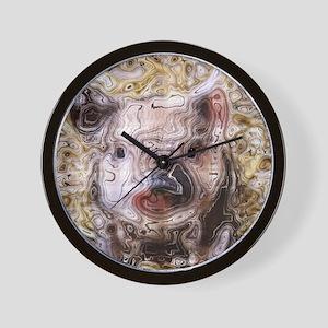 scribbled Piglet Wall Clock