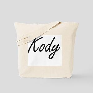 Kody Artistic Name Design Tote Bag