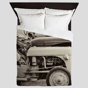 Tractors Queen Duvet