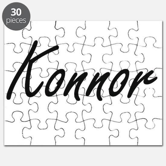 Konnor Artistic Name Design Puzzle