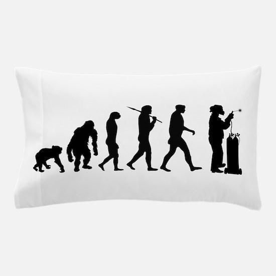 Welding Evolution Pillow Case