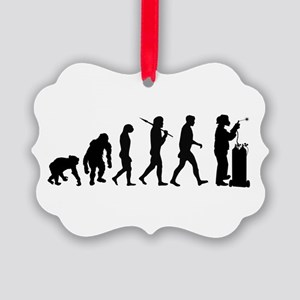 Welding Evolution Picture Ornament