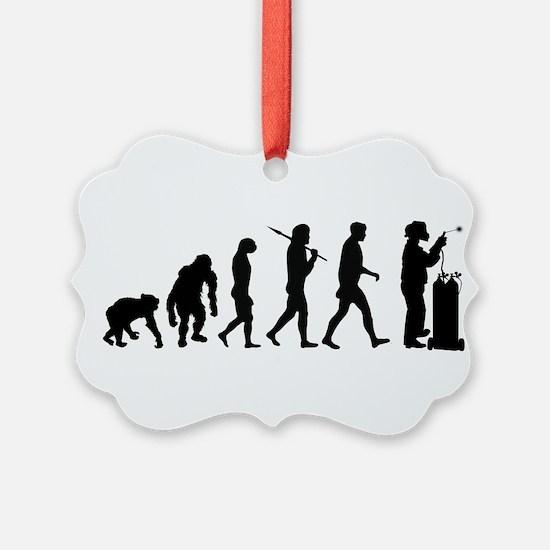 Welding Evolution Ornament